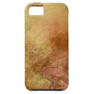 オレンジのユリ iPhone SE/5/5s ケース