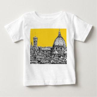 オレンジの大教会堂フィレンツェ ベビーTシャツ