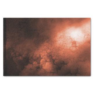 オレンジの抽象的なティッシュペーパー 薄葉紙