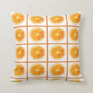 オレンジの枕-柑橘類 クッション