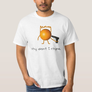 オレンジの皮 Tシャツ