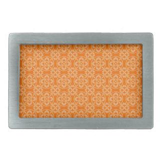 オレンジの(紋章の)フラ・ダ・リパターン 長方形ベルトバックル