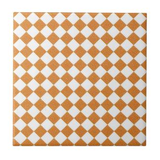 オレンジはタイルを市松模様にします タイル