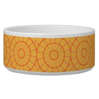 オレンジはペットボウルを一周します 犬用ご飯皿