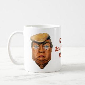 オレンジは新しいバラクです コーヒーマグカップ