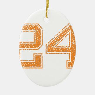 オレンジはJerzee数24.pngを遊ばします セラミックオーナメント