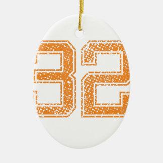 オレンジはJerzee数32.pngを遊ばします セラミックオーナメント