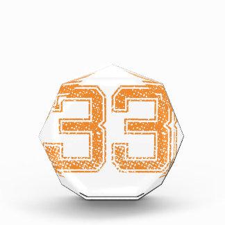 オレンジはJerzee数33.pngを遊ばします 表彰盾