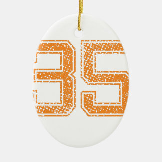 オレンジはJerzee数35.pngを遊ばします セラミックオーナメント