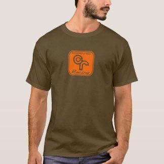 オレンジを競争させる洞窟 Tシャツ