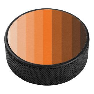 オレンジアイスホッケー用パックの陰 アイスホッケーパック
