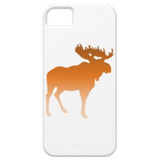 オレンジアメリカヘラジカ iPhone SE/5/5s ケース