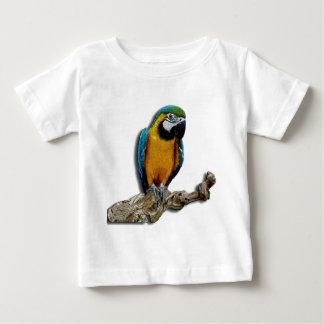 オレンジオウムの幼児Tシャツだけ ベビーTシャツ