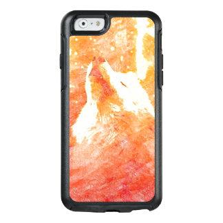 オレンジオオカミのiPhone 6/6sのオッターボックスの箱 オッターボックスiPhone 6/6sケース