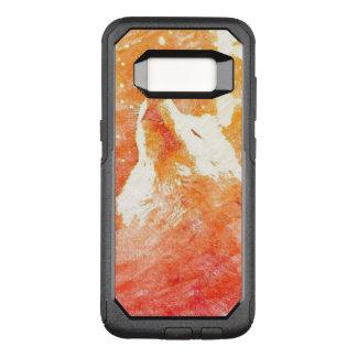 オレンジオオカミのSamsungの銀河系S8のオッターボックスの箱 オッターボックスコミューターSamsung Galaxy S8 ケース