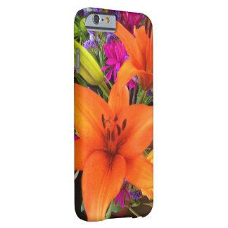 オレンジオニユリのiPhoneの箱 iPhone 6 ベアリーゼアケース