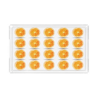 オレンジカスタムで小さい虚栄心の皿 トレー
