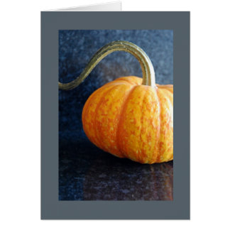 オレンジカボチャブランクNotecard カード