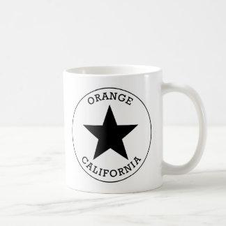 オレンジカリフォルニア コーヒーマグカップ