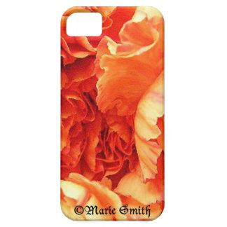 オレンジカーネーションの箱 iPhone 5 ベアリーゼアケース