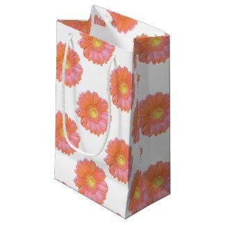 オレンジガーベラのデイジー スモールペーパーバッグ
