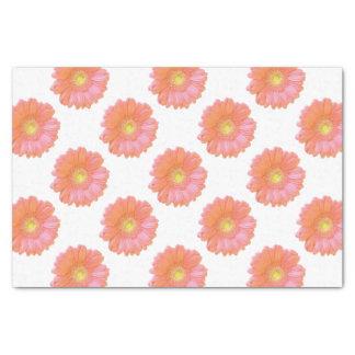 オレンジガーベラのデイジー 薄葉紙