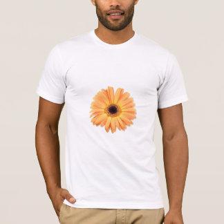 オレンジガーベラのTシャツ Tシャツ