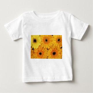 オレンジガーベラ ベビーTシャツ