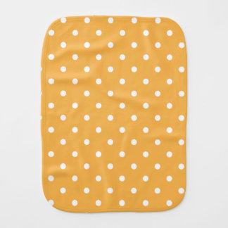 オレンジクリーム色の水玉模様 バープクロス
