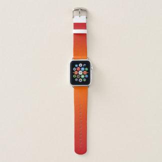 オレンジグラデーションなAppleの時計バンド Apple Watchバンド