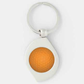 オレンジゴルフボール キーホルダー