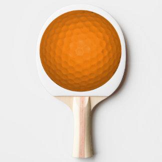 オレンジゴルフボール 卓球ラケット