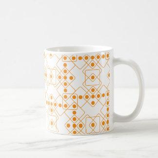 オレンジサイコロ コーヒーマグカップ
