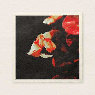 オレンジサボテンの花 スタンダードカクテルナプキン