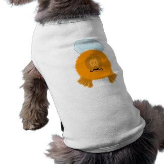 オレンジシェフのPom Pomの友達犬のティー ペット服