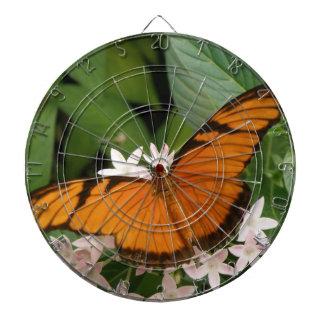 オレンジジュリアの蝶投げ矢板 ダーツボード