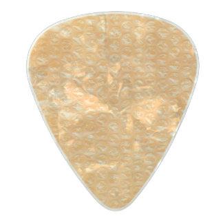 オレンジジュースの破裂音の気泡緩衝材のソーダ パールセルロイド ギターピック