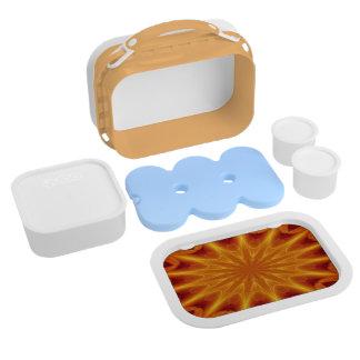 オレンジスターバストのYuboのお弁当箱セット ランチボックス