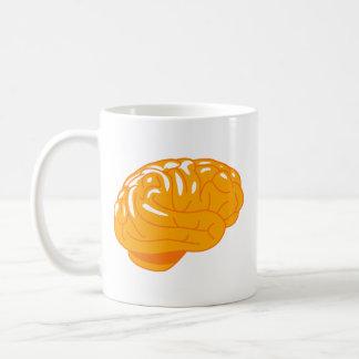 オレンジゼリーの頭脳のマグ コーヒーマグカップ