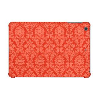 オレンジダマスク織