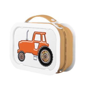 オレンジトラクター ランチボックス