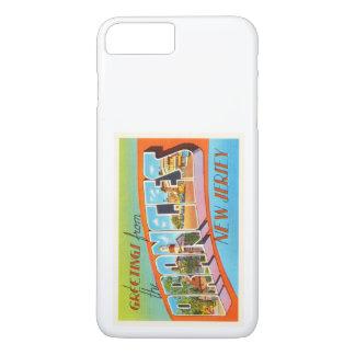 オレンジニュージャージーNJのヴィンテージ旅行郵便はがき iPhone 8 PLUS/7 PLUSケース