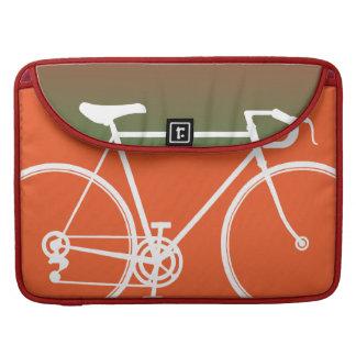 """オレンジバイクのデザインMacbookプロ15""""ラップトップの箱 MacBook Proスリーブ"""