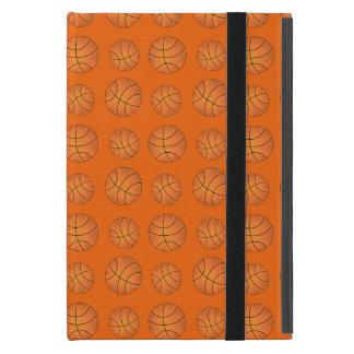 オレンジバスケットボールパターン iPad MINI ケース