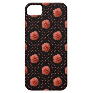 オレンジバラ iPhone SE/5/5s ケース