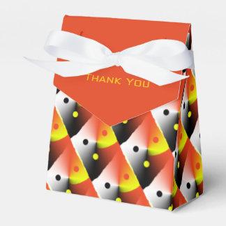 オレンジパターンは箱感謝していしています フェイバーボックス