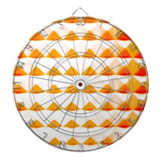 オレンジピラミッドの軽い音 ダーツボード