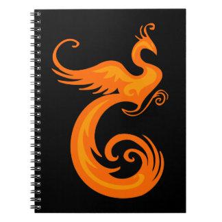 オレンジフェニックス ノートブック