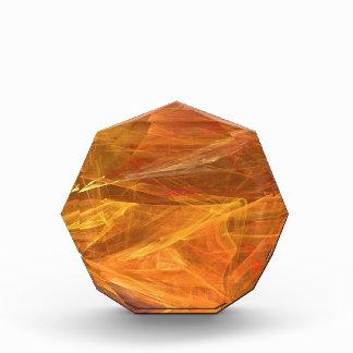 オレンジフラクタルの背景賞 表彰盾