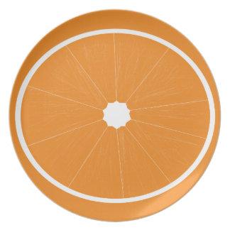 オレンジフルーツのプレート プレート
